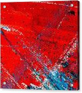 Abstract Original Artwork One Hundred Phoenixes Untitled Number Five Acrylic Print