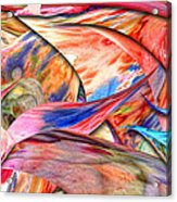 Abstract - Paper - Origami Acrylic Print
