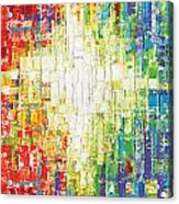 Abstract Rainbow Acrylic Print