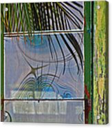 Abstract Reflection Acrylic Print