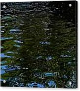 Abstract Ripples Acrylic Print