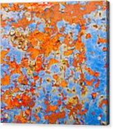 Abstract - Rust And Metal Series Acrylic Print