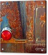 Abstract Rust Acrylic Print