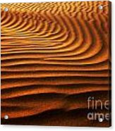 Abstract Sand Pattern  Acrylic Print