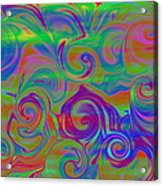 Abstract Series 5 Number 3 Acrylic Print
