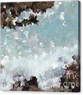 Abstract Shores Acrylic Print