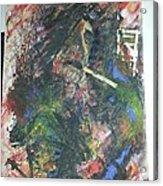 Abstract Smoker Acrylic Print