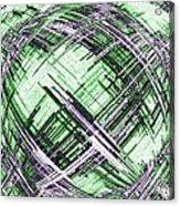 Abstract Spherical Design Acrylic Print