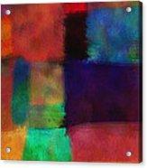 Abstract Study Five - Abstract - Art Acrylic Print