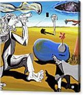 Abstract Surrealism Acrylic Print