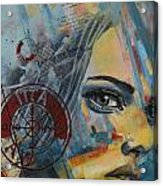 Abstract Tarot Art 022a Acrylic Print