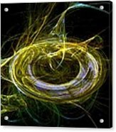 Abstract - The Ring Acrylic Print