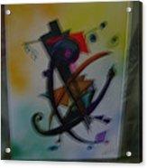Abstract Trangle Acrylic Print