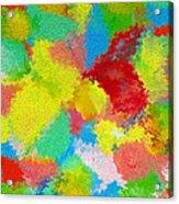 Abstract  Twenty  Of  Twenty  One Acrylic Print