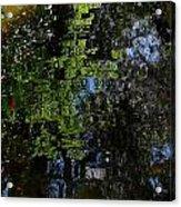 Abstract Water Reflection Acrylic Print