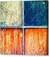 Abstract Window Acrylic Print