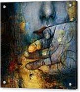 Abstract Woman 011 Acrylic Print