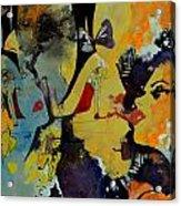 Abstract Women 010 Acrylic Print