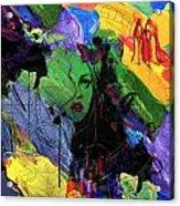Abstract Women 014 Acrylic Print