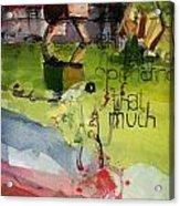 Abstract Women 023 Acrylic Print