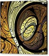 Abstract Wood Grain Acrylic Print