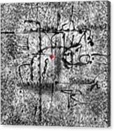 Abstraction 0416 Marucii Acrylic Print