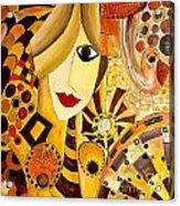 Abstraction 676 - Marucii Acrylic Print
