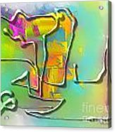 Abstraction 702 -marucii Acrylic Print