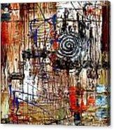 Abstraction 758 - Marucii Acrylic Print