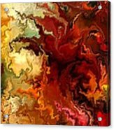 Abstraction Surrealist By Rafi Talby Acrylic Print