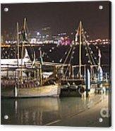 Abu Dhabi At Night Acrylic Print