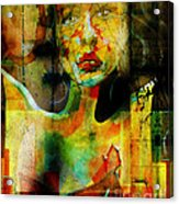 Abused And Stained Acrylic Print