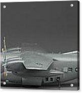 Ac 130 Gunship Side View Acrylic Print