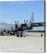 Ac-130j Ghostrider At Hurlburt Field Acrylic Print