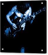 Ac Dc #35 In Blue Acrylic Print