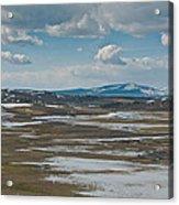 Yellowstone Landscape Acrylic Print
