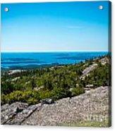 Acadia Blue Acrylic Print