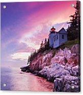 Acadia Sunset Acrylic Print