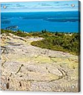 Acadia Views Acrylic Print