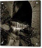 Acadia Waterfall Acrylic Print