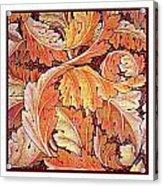 Acanthus Vine Design Acrylic Print by William Morris