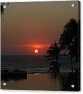 Acapulco Red Acrylic Print