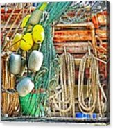 Accessories To Shrimp Catching Acrylic Print