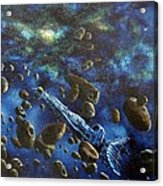 Accidental Asteroid Acrylic Print