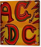 Acdc Acrylic Print