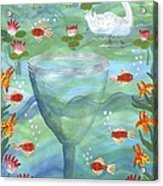 Ace Of Cups Acrylic Print