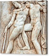 Achilles And Penthesilea Acrylic Print