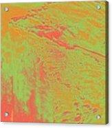 Acid Sky Hill Acrylic Print