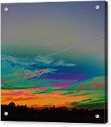 Acid Sky Acrylic Print