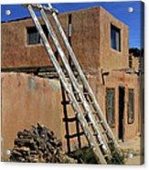 Acoma Pueblo Adobe Homes 3 Acrylic Print